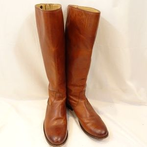 FRYE Melissa Riding Boots Size 7.5 Extended Calf